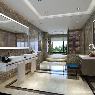 家装室内装修设计师港式混搭全案设计效果图_3278479