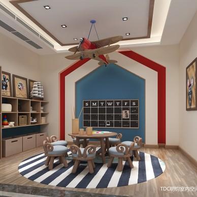 家装室内装修设计师港式混搭全案设计效果图_3278481