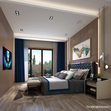 家装室内装修设计师港式混搭全案设计效果图_3278484