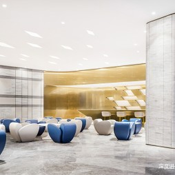 国际东方售楼处洽谈区设计图片