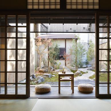 京都 Guest House合庭户庭设计图