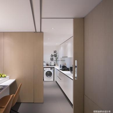 北欧轻奢Loft厨房设计图