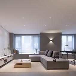 北欧轻奢Loft客厅沙发设计