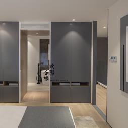 北欧轻奢Loft卧室衣柜设计图