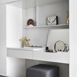 万科金域广场loft公寓主卧梳妆台设计图