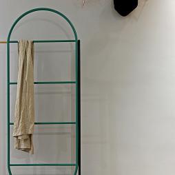 89㎡北欧混搭卧室衣架设计图