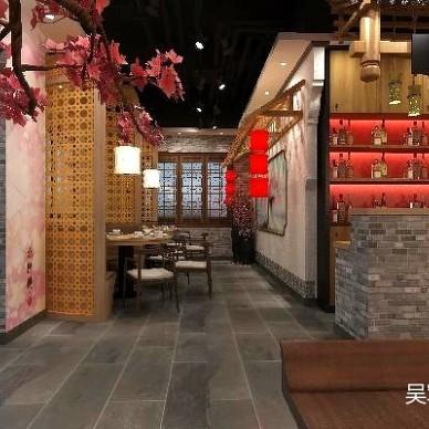 【AX吴军设计】七公江湖烧烤餐厅_3280429