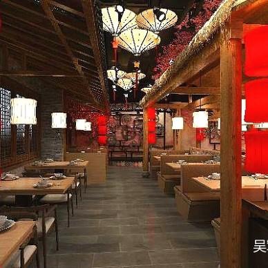 【AX吴军设计】七公江湖烧烤餐厅_3280431