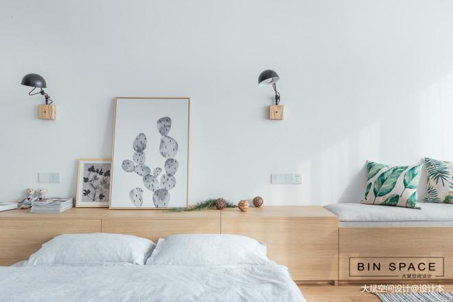 简约小户型卧室床头灯设计图