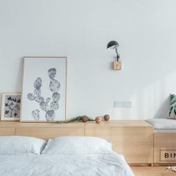 簡約小戶型臥室床頭燈設計圖