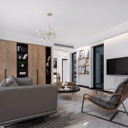 简单现代客厅设计图