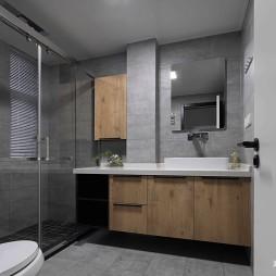简单现代卫浴设计