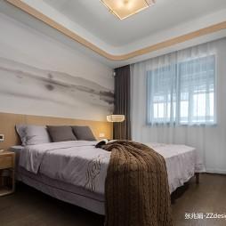 中式四居次卧室设计图片