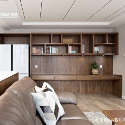 力度家園小戶型客廳儲物柜設計圖