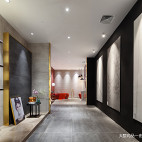 600㎡瓷砖展厅瓷砖展示区设计图
