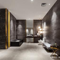 600㎡瓷砖展厅卫浴间展示设计图