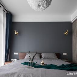 北欧风卧室背景墙设计图