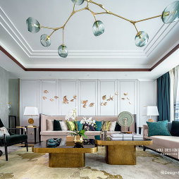 中式客厅设计实景图片
