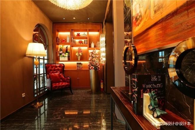 广州万达广场爱味道牛排西餐厅装修设计