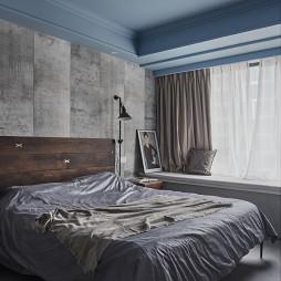 简约卧室飘窗设计图