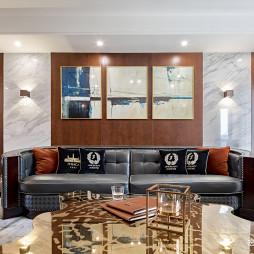 龙德花园179m²客厅设计图片