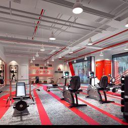 成都健身房设计案列分享——安培力健身房_3288737