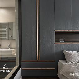 北欧卧室储物柜设计实景图