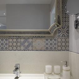 143㎡美式洗手台设计图