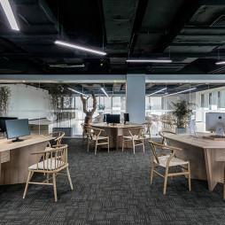 办公会所办公空间设计图