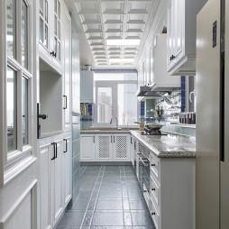 美式大厨房设计图