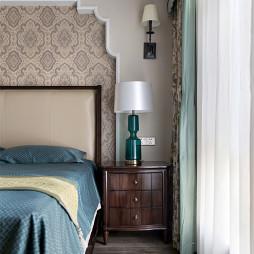 美式卧室床头灯设计