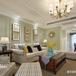 美式客厅吊灯设计图