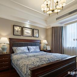 优雅美式主卧室设计