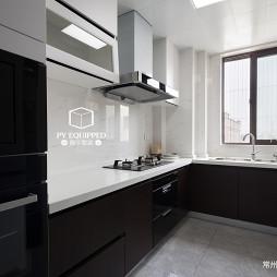 125㎡现代风格厨房设计图