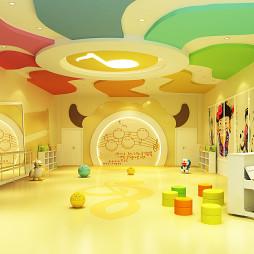 """成都幼儿园装饰装修设计""""孩子的伊甸园""""_3292974"""