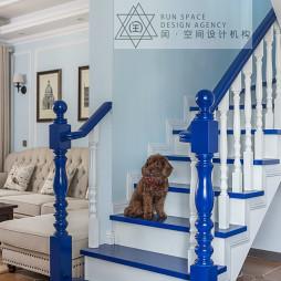 混搭复式楼梯设计图