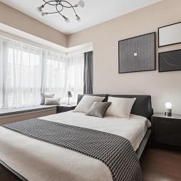 142㎡现代卧室挂画设计图
