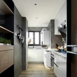 现代四居室厨房设计图片