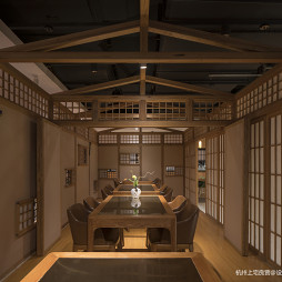 三上日本料理西湖文化广场店内部设计图