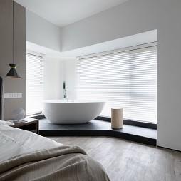 简约风格卧室浴缸设计图