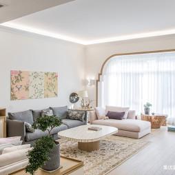 温暖混搭风格客厅设计