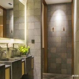 洋洋中餐厅卫生间设计