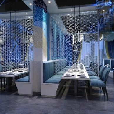 【AX吴军设计】唯味海鲜自助餐厅设计_3299606