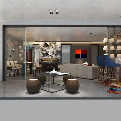 现代风格与智能家居的完美融合。_3300499