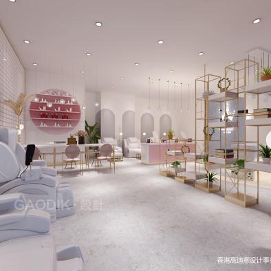 U3 NAIL 美甲店设计