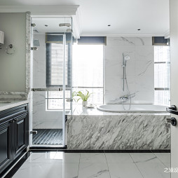 小美式三居浴室设计