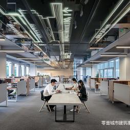 上海宝业中心办公层设计
