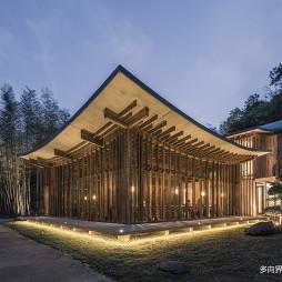 双溪书院走道灯光设计
