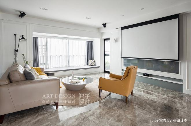 雅致现代四居客厅设计