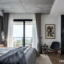 舒适混搭样板房卧室设计